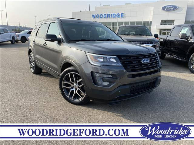 2017 Ford Explorer Sport (Stk: L-1216A) in Calgary - Image 1 of 23