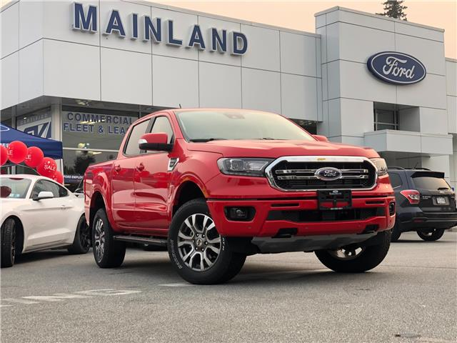 2020 Ford Ranger Lariat (Stk: 20RA3884) in Vancouver - Image 1 of 28