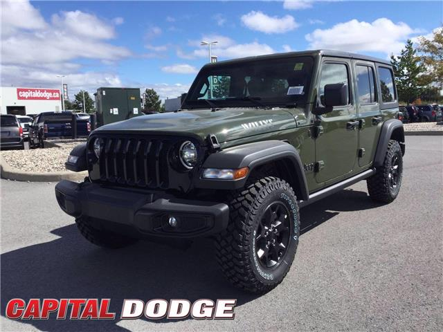 2021 Jeep Wrangler Unlimited Sport (Stk: M00005) in Kanata - Image 1 of 24
