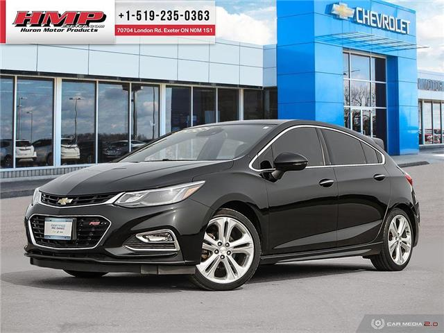 2017 Chevrolet Cruze Hatch Premier Auto (Stk: 88130) in Exeter - Image 1 of 27