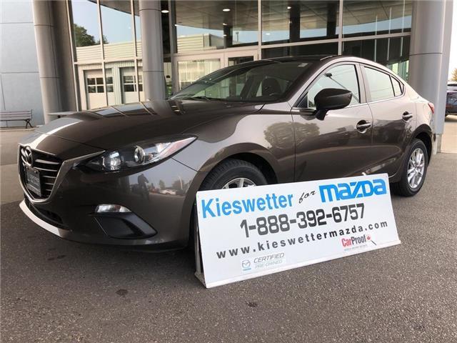 2016 Mazda Mazda3 GS (Stk: U4014) in Kitchener - Image 1 of 29