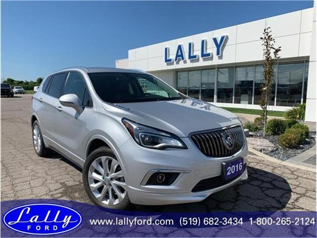 2016 Buick Envision Premium 1, Leather, Roof, Mint!! (Stk: 26815a) in Tilbury - Image 1 of 18