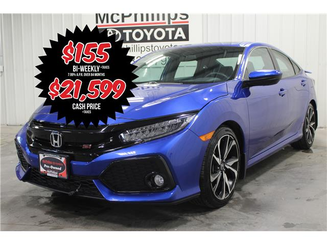 2017 Honda Civic Si (Stk: C125243A) in Winnipeg - Image 1 of 27
