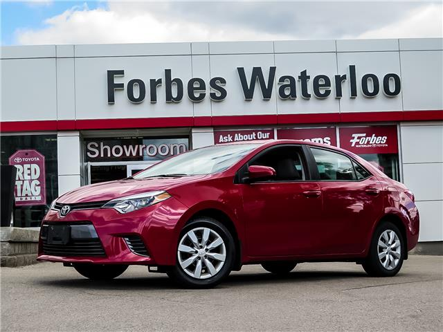 Used 2016 Toyota Corolla  FB16 - Waterloo - Forbes Waterloo Toyota