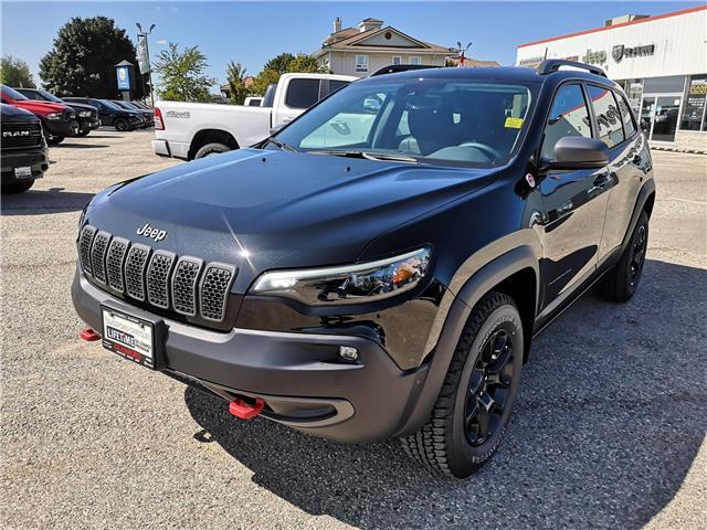 2021 Jeep Cherokee Trailhawk (Stk: 105296) in Ingersoll - Image 1 of 20