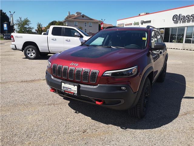 2021 Jeep Cherokee Trailhawk (Stk: 105297) in Ingersoll - Image 1 of 19