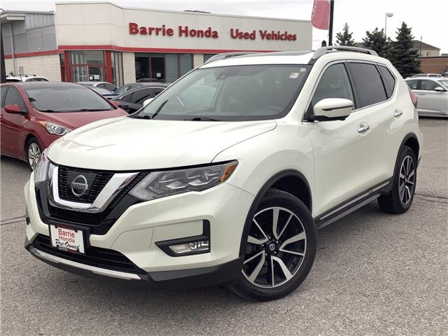 2017 Nissan Rogue SL Platinum (Stk: U17312) in Barrie - Image 1 of 24