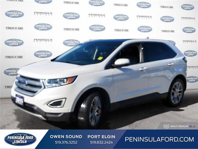 2015 Ford Edge Titanium (Stk: 2096) in Owen Sound - Image 1 of 24
