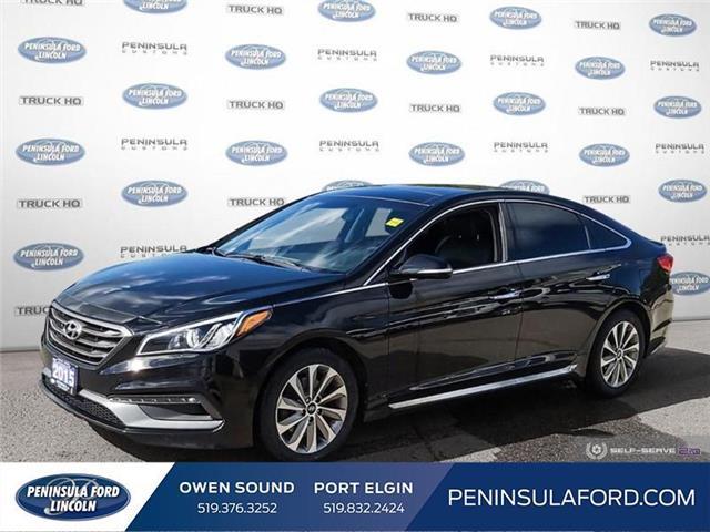 2015 Hyundai Sonata Sport Tech (Stk: 20FE240A) in Owen Sound - Image 1 of 23
