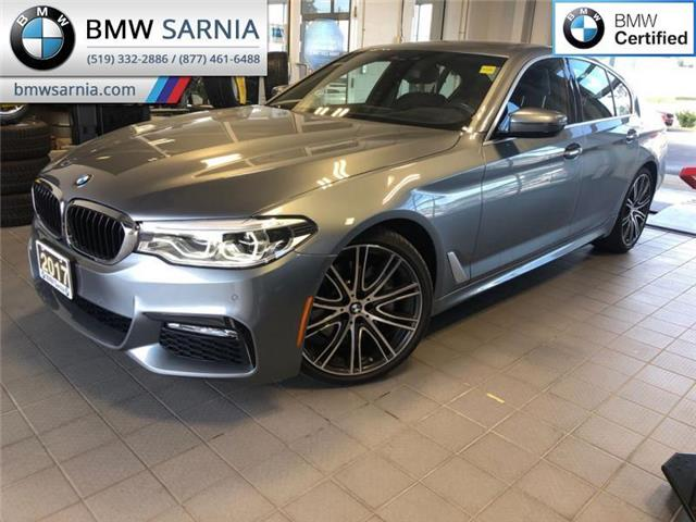 2017 BMW 540i xDrive (Stk: BU764) in Sarnia - Image 1 of 21