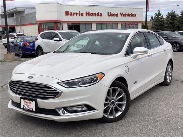 2017 Ford Fusion Energi Titanium (Stk: U17542) in Barrie - Image 1 of 29