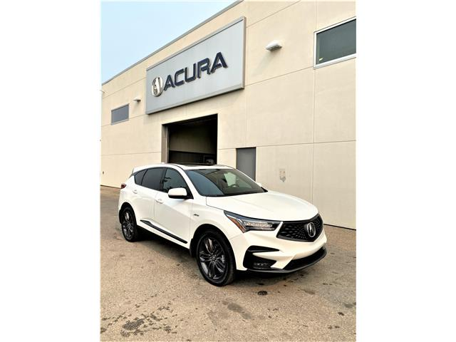 2020 Acura RDX A-Spec (Stk: PW0191) in Red Deer - Image 1 of 19