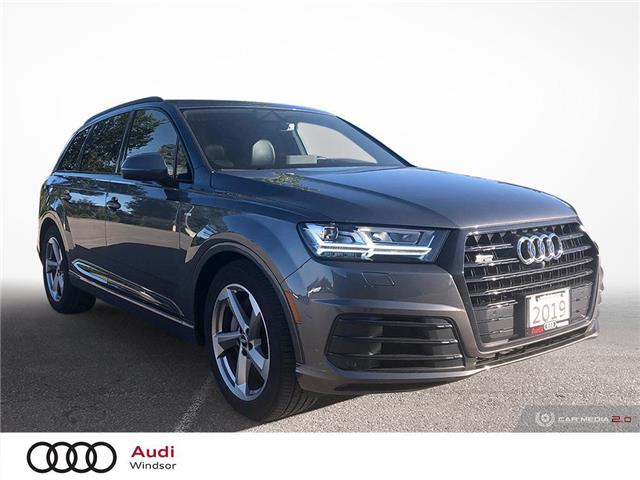 2019 Audi Q7 55 Technik (Stk: 20535) in Windsor - Image 1 of 30