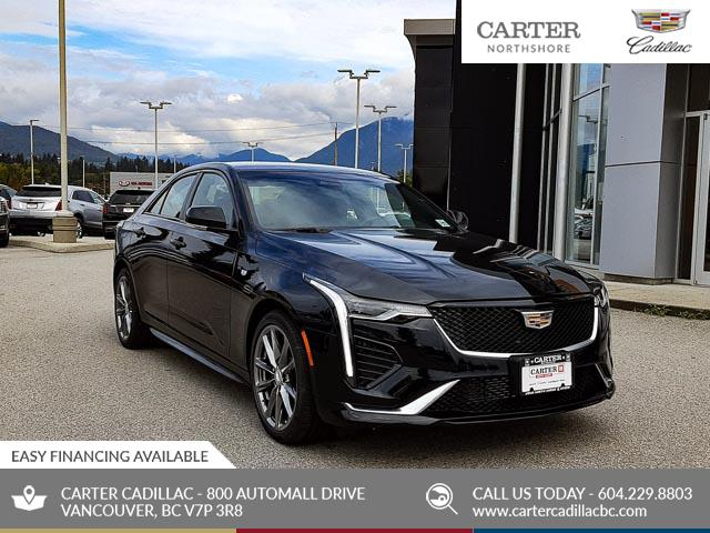 2020 Cadillac CT4 Sport (Stk: D71660) in North Vancouver - Image 1 of 23