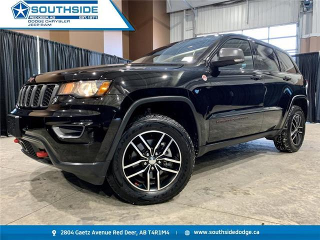 2018 Jeep Grand Cherokee Trailhawk (Stk: A14535A) in Red Deer - Image 1 of 21