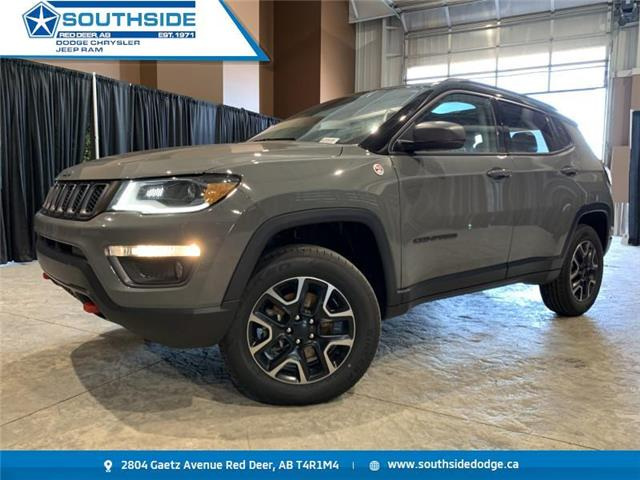 2019 Jeep Compass Trailhawk (Stk: W2048B) in Red Deer - Image 1 of 19