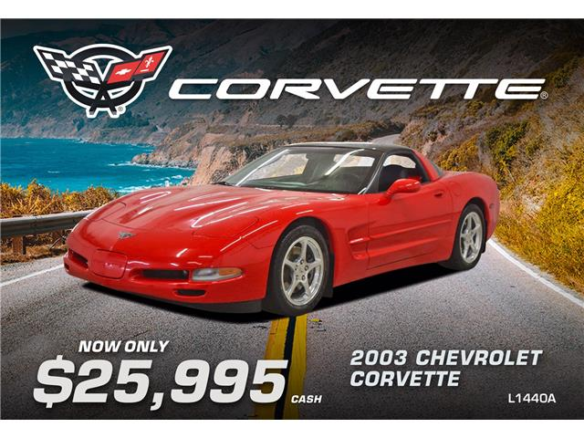 2003 Chevrolet Corvette Base (Stk: L1440A) in Watrous - Image 1 of 37