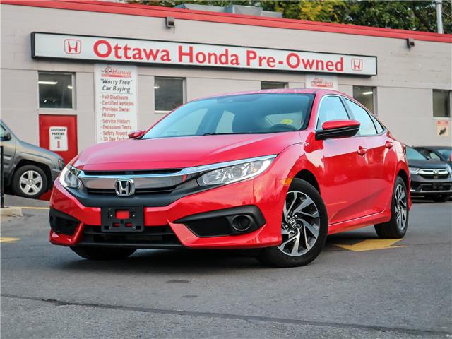 2017 Honda Civic EX (Stk: H85600) in Ottawa - Image 1 of 27