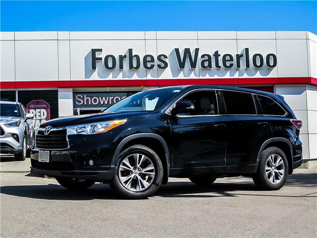 Used 2014 Toyota Highlander LE 1 OWNER! LE *CLEAN CARFAX* - Waterloo - Forbes Waterloo Toyota