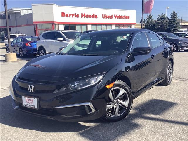 2019 Honda Civic LX (Stk: U19611) in Barrie - Image 1 of 23
