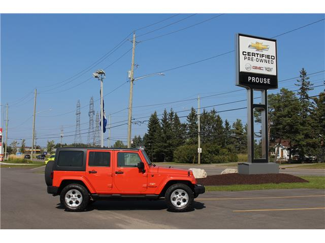 2015 Jeep Wrangler Unlimited Sahara (Stk: 4043-20A) in Sault Ste. Marie - Image 1 of 8