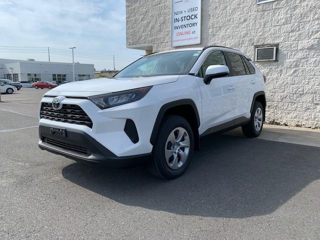 2021 Toyota RAV4 LE (Stk: TX010) in Cobourg - Image 1 of 5