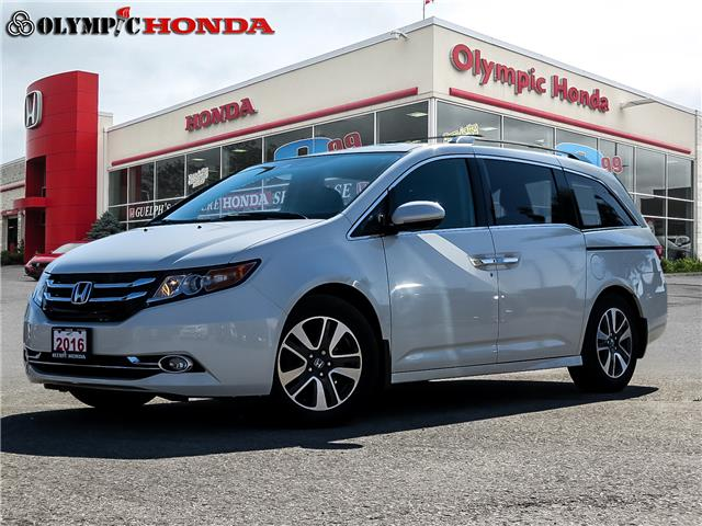 2016 Honda Odyssey Touring (Stk: U2219) in Guelph - Image 1 of 28