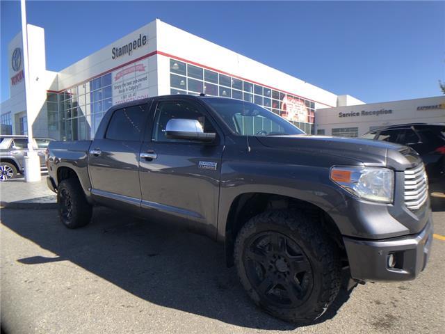 2017 Toyota Tundra Platinum 5.7L V8 (Stk: 9223A) in Calgary - Image 1 of 12
