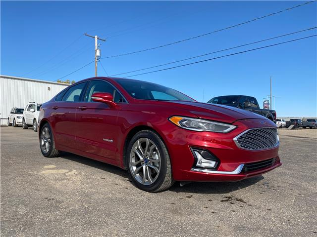 2019 Ford Fusion Hybrid Titanium (Stk: 20U146) in Wilkie - Image 1 of 24
