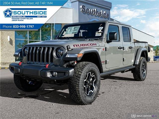 2021 Jeep Gladiator Rubicon (Stk: GD2101) in Red Deer - Image 1 of 25