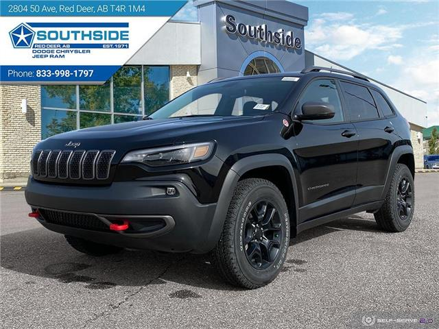 2020 Jeep Cherokee Trailhawk (Stk: CE2036) in Red Deer - Image 1 of 25