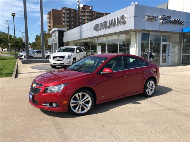 2011 Chevrolet Cruze LT Turbo (Stk: L011A) in Chatham - Image 1 of 17