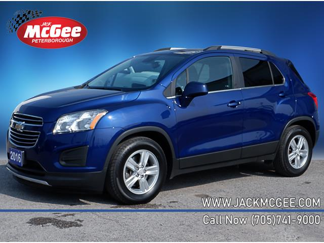 2016 Chevrolet Trax LT 3GNCJLSBXGL225170 P16514 in Peterborough