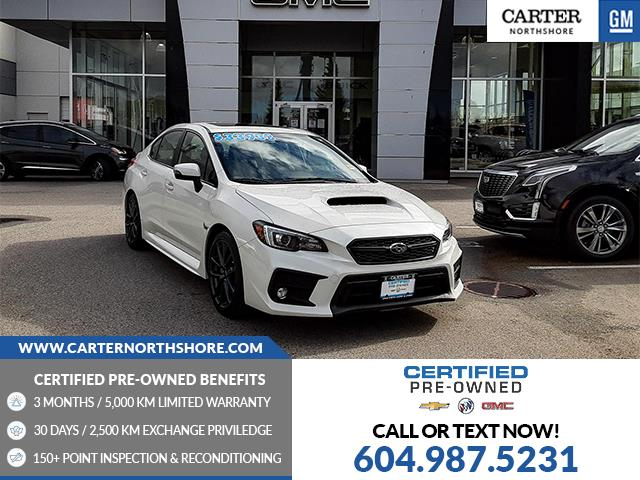 2018 Subaru WRX Sport-tech JF1VA1H6XJ9805783 1CL62611 in North Vancouver