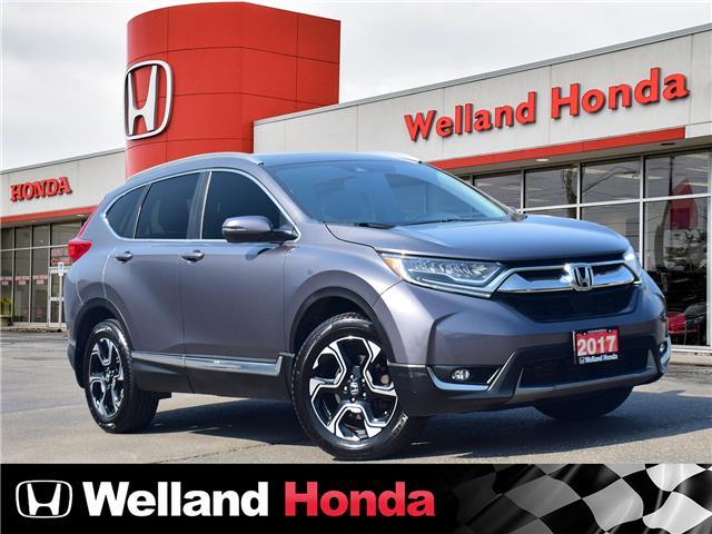 2017 Honda CR-V Touring (Stk: U6844) in Welland - Image 1 of 26