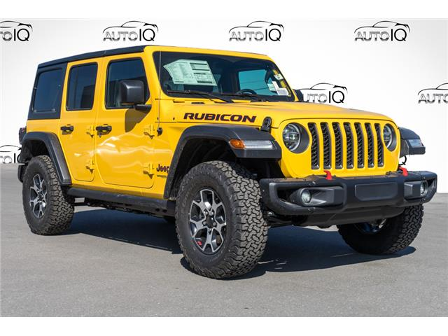 2021 Jeep Wrangler Unlimited Rubicon (Stk: 44134) in Innisfil - Image 1 of 22