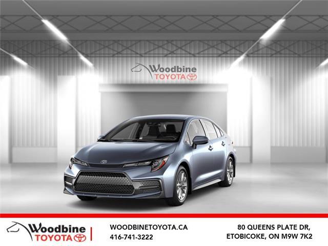 2020 Toyota Corolla SE (Stk: 20-876) in Etobicoke - Image 1 of 6