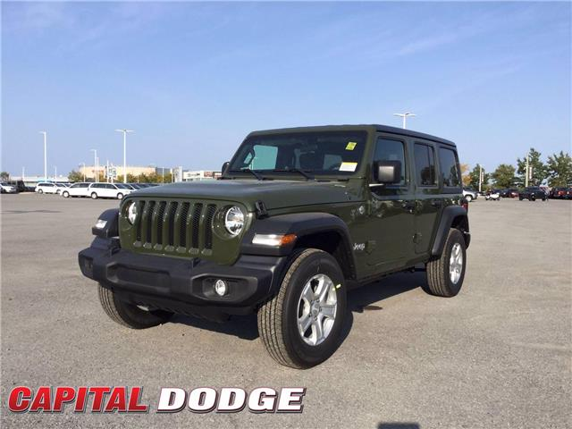 2021 Jeep Wrangler Unlimited Sport (Stk: M00014) in Kanata - Image 1 of 23