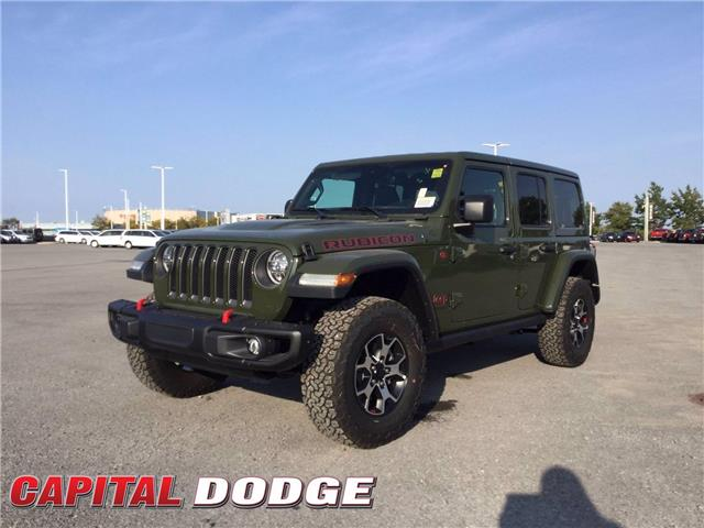 2021 Jeep Wrangler Unlimited Rubicon (Stk: M00017) in Kanata - Image 1 of 21