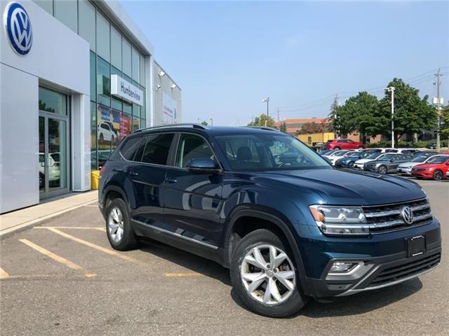 2018 Volkswagen Atlas 3.6 FSI Highline (Stk: 9895P) in Toronto - Image 1 of 5