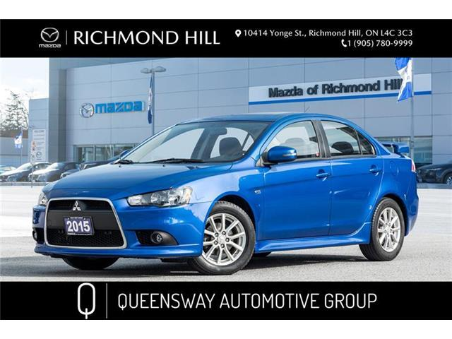 2015 Mitsubishi Lancer SE (Stk: 20-423DTA) in Richmond Hill - Image 1 of 19