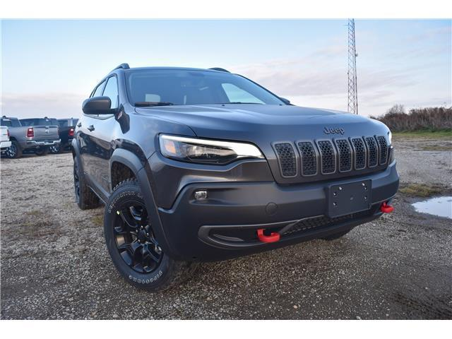 2020 Jeep Cherokee Trailhawk (Stk: 95610) in St. Thomas - Image 1 of 28
