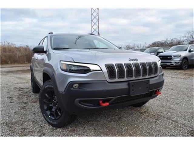 2020 Jeep Cherokee Trailhawk (Stk: 95466) in St. Thomas - Image 1 of 27
