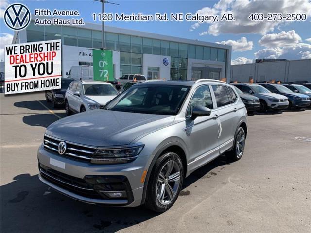 2020 Volkswagen Tiguan Highline (Stk: 20178) in Calgary - Image 1 of 30