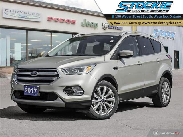 2017 Ford Escape Titanium (Stk: 34851) in Waterloo - Image 1 of 27