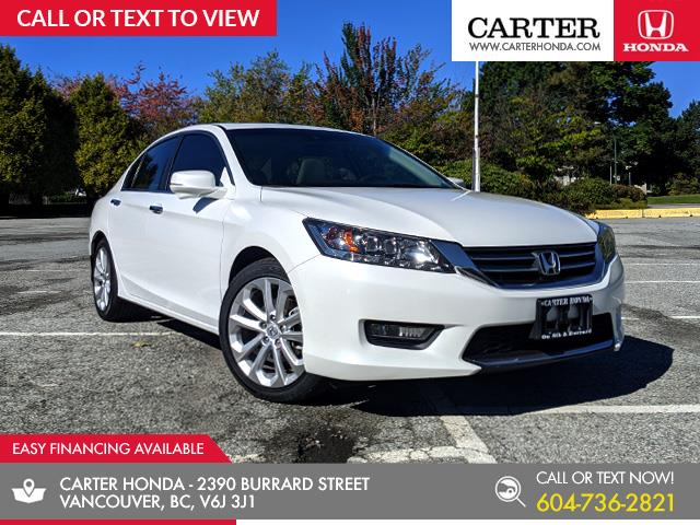 2014 Honda Accord Touring (Stk: 6K19971) in Vancouver - Image 1 of 22
