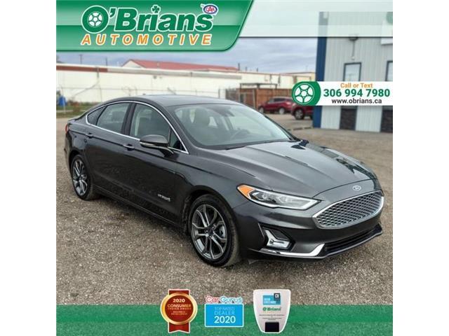 2019 Ford Fusion Hybrid Titanium (Stk: 13792A) in Saskatoon - Image 1 of 25