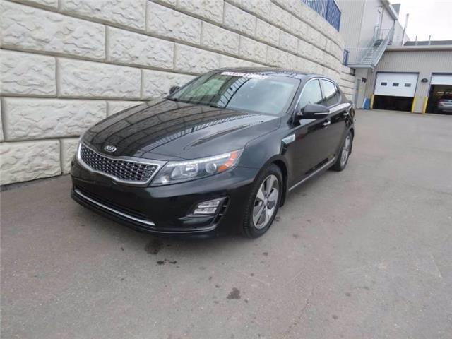 2014 Kia Optima Hybrid EX (Stk: D00277A) in Fredericton - Image 1 of 18
