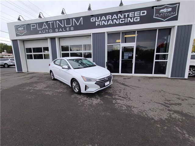 2020 Hyundai Elantra Preferred (Stk: 914248) in Kingston - Image 1 of 14