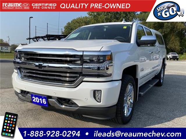 2016 Chevrolet Silverado 1500 High Country (Stk: 20-0189A) in LaSalle - Image 1 of 25